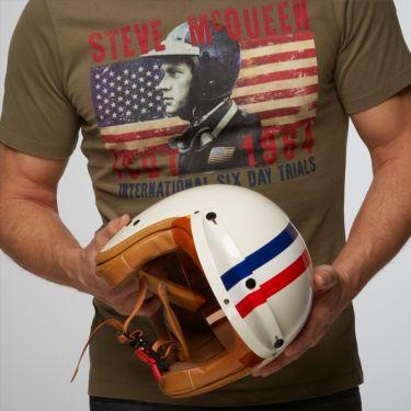 Vintage Stripe Helmet