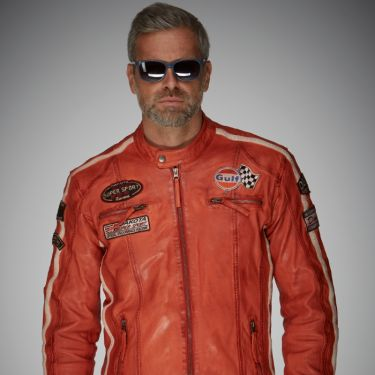 Gulf Racing Jacket orange