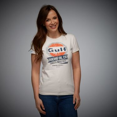Lady Oil Racing T-Shirt cream