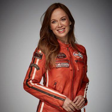 Gulf Lady Racing Jacket orange